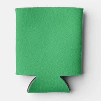 Trendy Green Grainy Background Can Cooler