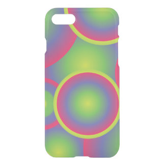 Trendy green Pop Art Pattern iPhone 7 Case