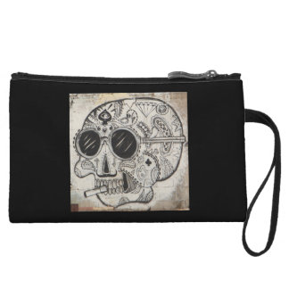 Trendy Halloween Mini-Clutch Wristlets