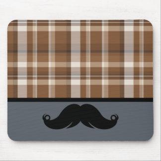 Trendy Handlebar Mustache Moustache Stache Mouse Pad