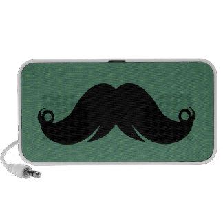 Trendy Handlebar Mustache Moustache Stache PC Speakers