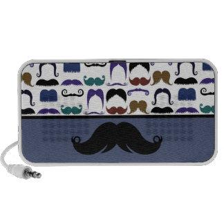 Trendy Handlebar Mustache Moustache Stache Mini Speaker