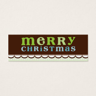 TRENDY HOLIDAY GIFT TAG :: candyfloss 3