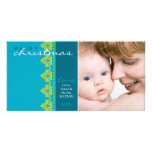 TRENDY HOLIDAY PHOTOCARD :: pretty bordered L1 Customised Photo Card