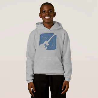 Trendy hooded sweatshirt for kids