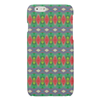 Trendy horizontal colorful pattern iPhone 6 plus case