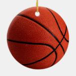 Trendy Hot Basketball Christmas Ornament