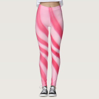 Trendy Hot Pink Swirl - Leggings