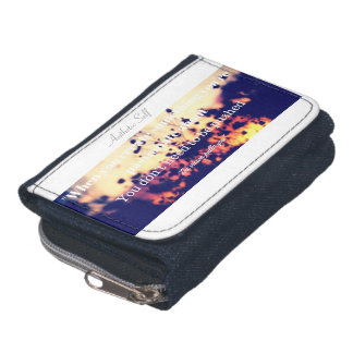 Trendy Inspirational Wallet, Wallet