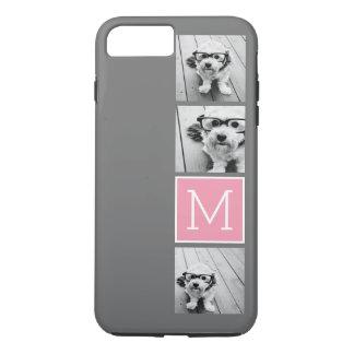 Trendy Instagram Photo Collage Custom Monogram iPhone 8 Plus/7 Plus Case