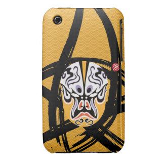 Trendy Iphone3 Case - Stylish Chinese Pop Art iPhone 3 Case-Mate Case
