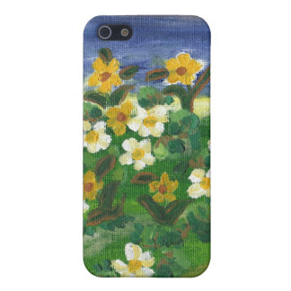 Trendy iphone cover in a canvas painting finish covers for iPhone 5