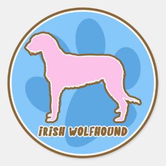 Trendy Irish Wolfhound Sticker