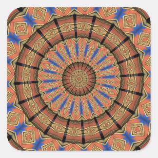 Trendy Layer circle pattern Sticker
