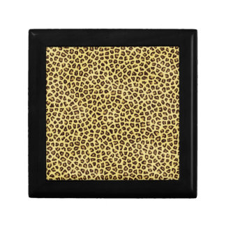 Trendy Leopard Cheetah Print Gift Box