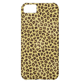 Trendy Leopard Cheetah Print iPhone 5C Case