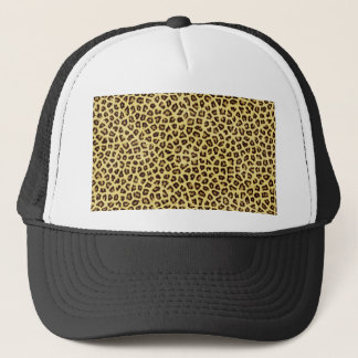 Trendy Leopard Cheetah Print Trucker Hat