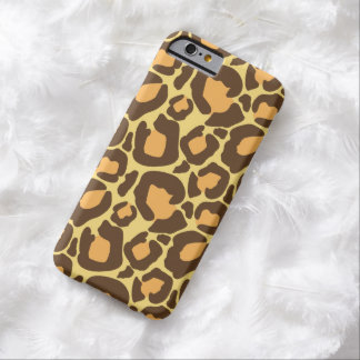 Trendy Leopard Print Barely There iPhone 6 Case