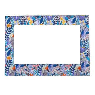 Trendy lovely floral 5x7 Magnetic Frame