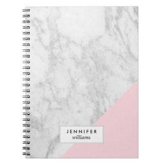 Trendy Marble Texture Notebook