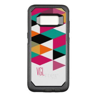 Trendy Modern Colorful Geometric Pattern OtterBox Commuter Samsung Galaxy S8 Case