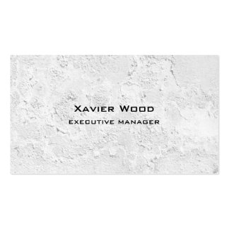 Trendy Modern Elegant Grey Wall Texture Manager Pack Of Standard Business Cards
