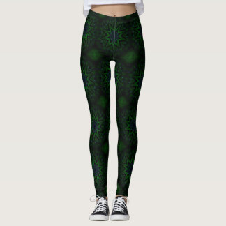 Trendy Modern Gaia Goddess Earth Leggings