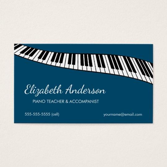 Trendy & Modern, Piano Teacher & Accompanist Business