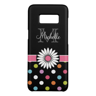 Trendy Monogram Ladies Case-Mate Samsung Galaxy S8 Case