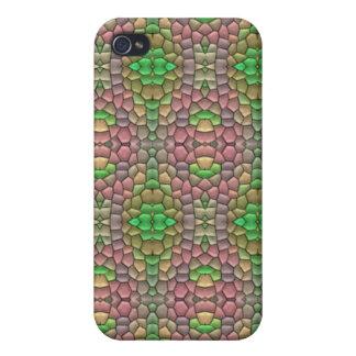 Trendy mosaic tile iPhone 4/4S case