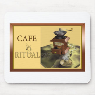 Trendy mouse pad - Cafe Ritual Club