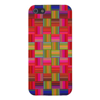 Trendy Multicolored Mosaic Tile Pattern Case For iPhone 5/5S