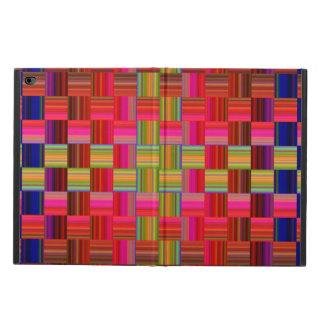 Trendy Multicolored Mosaic Tile Pattern iPad Air Cases