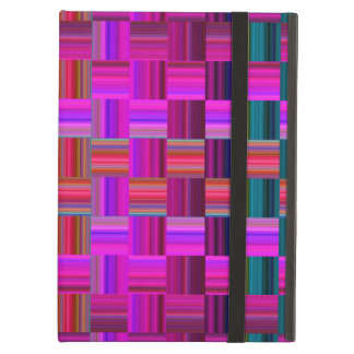 Trendy Multicolored Mosaic Tile Pattern iPad Air Covers