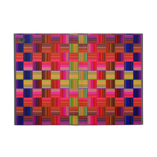 Trendy Multicolored Mosaic Tile Pattern iPad Mini Cover