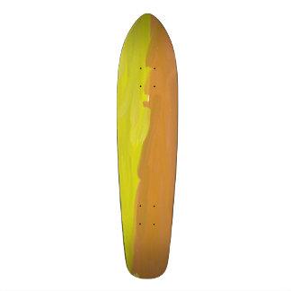 Trendy multicolored pattern 20 cm skateboard deck