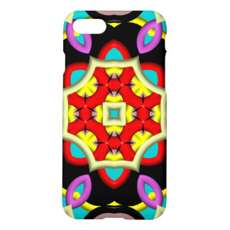 Trendy multicolored pattern iPhone 8/7 case
