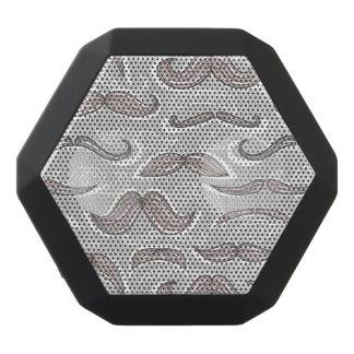 Trendy Mustache Pattern Black Boombot Rex Bluetooth Speaker