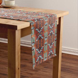 Trendy Native American Indian Tribal Pattern Medium Table Runner
