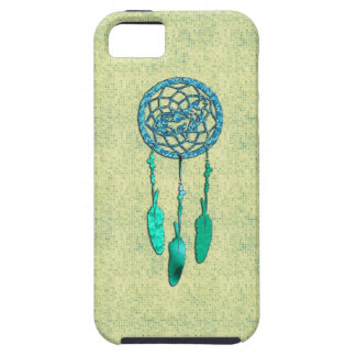Trendy Native American Wolf Dreamcatcher Case For The iPhone 5