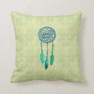 Trendy Native American Wolf Dreamcatcher Cushion