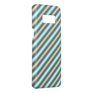 Trendy Orange Blue Stripes Case-Mate Samsung Galaxy S8 Case