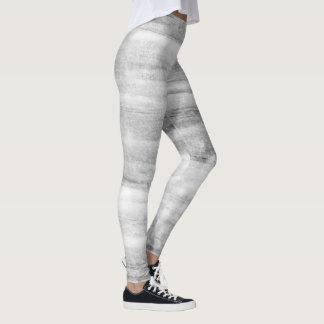 Trendy Painted - Marble Effect Print Leggings