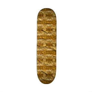 Trendy paper pattern skate board decks