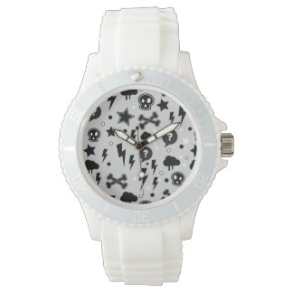 Trendy pattern wristwatch