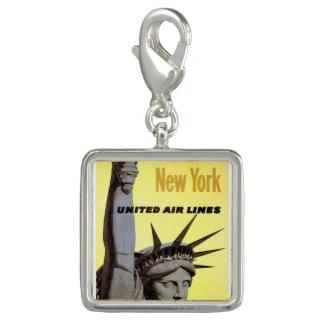 Trendy Photo Charm Bracelet New York