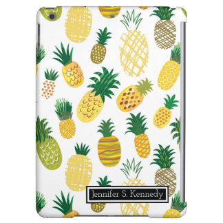 Trendy Pineapple Pattern | Add Your Name