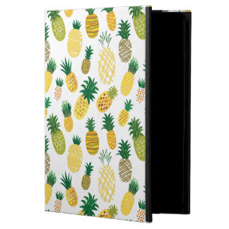 Trendy Pineapple Pattern Cover For iPad Air