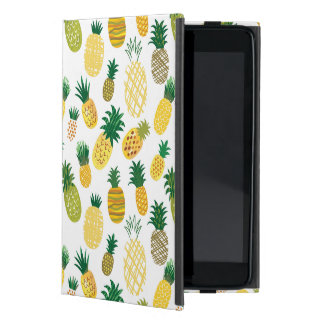 Trendy Pineapple Pattern Covers For iPad Mini