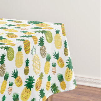 Trendy Pineapple Pattern Tablecloth